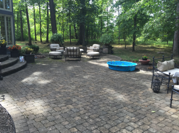 When We Came On The Scene, The Pavers Were Still Unique And Classic  Looking, Except With A Buildup Of 15 20 Years Of Grime, Mold, And Mildew.